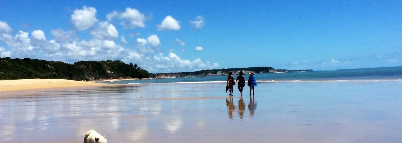 Caminhada em Caraíva